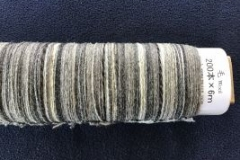 SAORI wool prewound warps