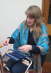 Introduction to Saori weaving