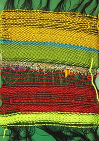 Wonderful saori weaving