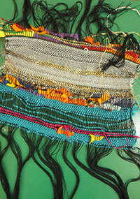 Collaborative weaving activity
